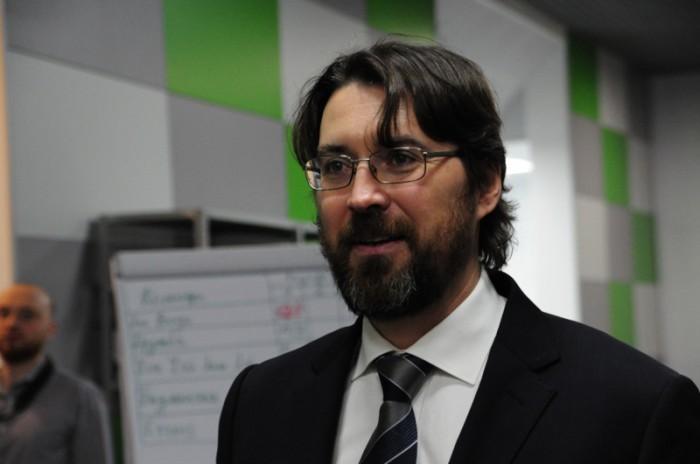 Ведущий и соорганизатор Чемпионата Андрей Турбин