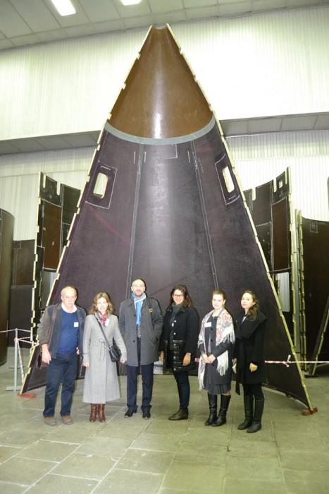 Цех по производству обшивки части ракетоносителя