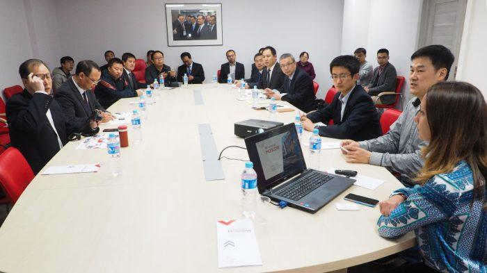 На встрече с руководством Технополиса Москва