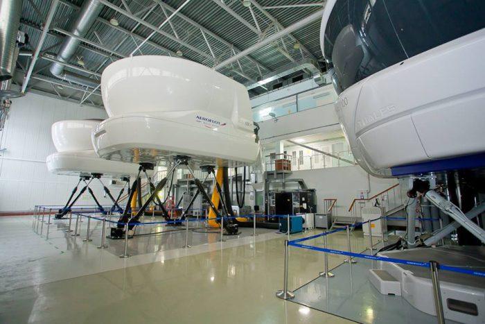 Тренажер пилотов Boeing